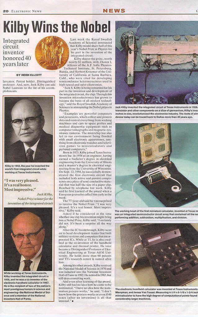 60年前,世界上第一块集成电路诞生芯片